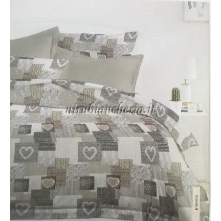 Copripiumino Matrimoniale In Pile.Parure Copripiumino Matrimoniale Due Piazze In Cotone Microfibra