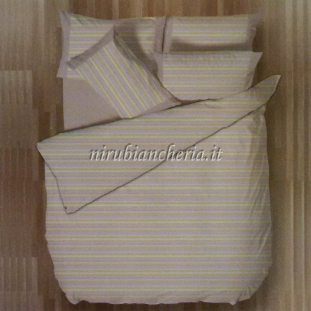 f5746fe053 Completo lenzuola con fascia di Regina Schrecker per letto ...