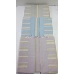 5a8acc27da Completo lenzuola con fascia di Regina Schrecker per letto matrimoniale due  piazze. Vari colori. B202