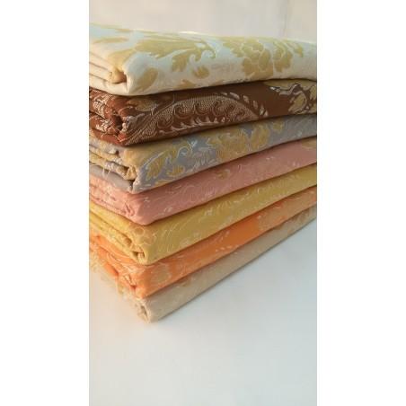 Scampolo tessuto damascato Dis.Fiori 280x280 cm . A864