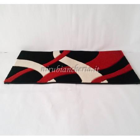 Tappeto moderno Carvino Twist 60x110 cm. A085