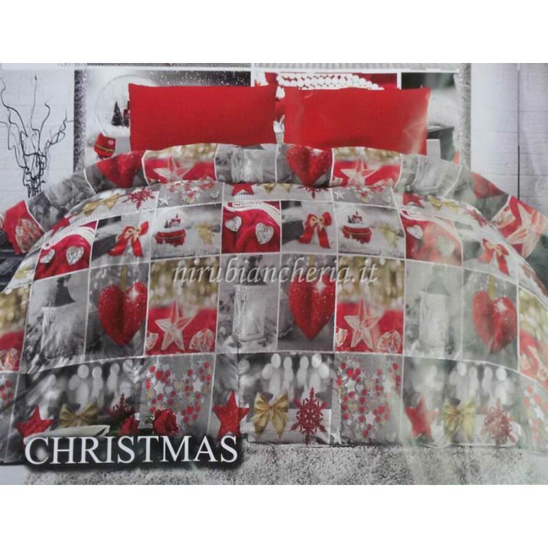 Piumone Con Le Foto.Trapunta Piumone Invernale Christmas Con Stampa Digitale 3d