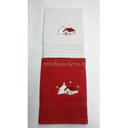 Set asciugamano spugna 1+1...