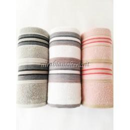 Set 3+3 asciugamani viso e...