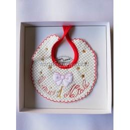 Bavetta natalizia di cotone...
