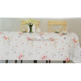 Tovaglia da tavola con rose...