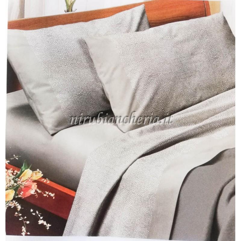 Completo Lenzuola In Puro Cotone Per Letto Una Piazza E Mezza Kiro Oro B843